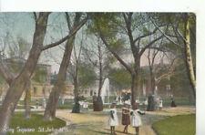 Canada Postcard - King Square - St John - New Brunswick - Ref 11059A