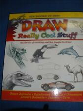 DRAW REALLY COOL STUFF - SIX BOOKS IN ONE