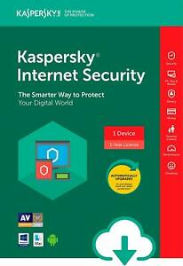 Kaspersky Internet Security 2020-2021 1PC 1YEAR Global