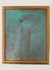 "Ölbild von A. Slezak 1989 ""Komposition"""