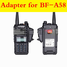 Headset Adapter Connector 2Pin Audio Walkie Talkie For Baofeng 9700 A58 Motorola
