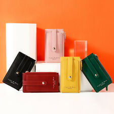 Trendy Women's RFID Blocking Wallets Multifunction Coin Purse Credit Card Holder