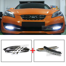 LED Daytime Light Daylight DRL Lamp Cover For HYUNDAI 2009 - 2012 Genesis Coupe