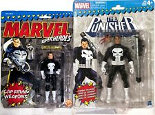 !THE PUNISHER MARVEL LEGENDS Retro & Original Superheroes New Vintage Set Sealed