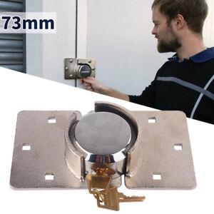 Ø73mm Vorhängeschloss Sicherheitschloss Van Garage Tür mit Generalschlüssel HOT