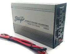 Stinger 500 Watt 12 voltios DC a 120 voltaje CA tres salida inversor de potencia