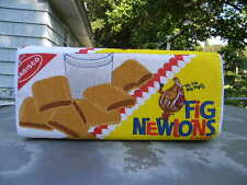 RARE NABISCO FIG NEWTONS CAKES promotional advertising PILLOW