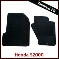 HONDA S2000 1999-2009 Tailored Carpet Car Floor Mats BLACK
