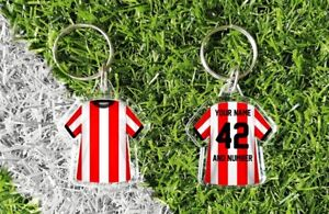 SOUTHAMPTON personalised keyring. Add your own name and number. Retro & modern