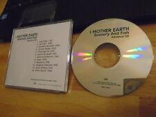 RARE ADV PROMO I Mother Earth CD Scenery And Fish RUSH Alex Lifeson Crash Karma