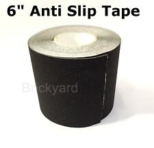 "6"" x 10' BLACK Roll Safety Non Skid Tape Anti Slip Tape Sticker Grip Safe Grit"