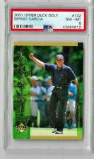 2001 Upper Deck Golf Sergio Garcia #132 PSA 8