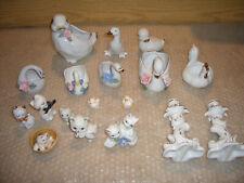 Dachbodenfund-Dekofiguren-Tiere 16 Stück und 2 Kerzenhalter!!