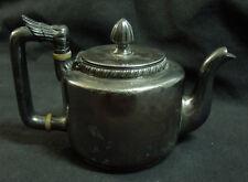 Antique Middleton Plate Co Quad Plate Art Deco Teapot with Bakelite Details