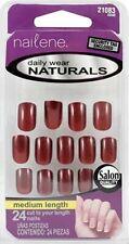 Nailene Daily Wear Naturals Nails Burgundy 079181210836