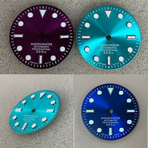 For NH35A/NH36 Movement 29mm Watch Dial Without Calendar Luminous Watch Dial CAU