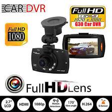 2.7' Full HD LCD Car Camera  Dash Cam Crash DVR G-sensor Night Vision 1080P UK