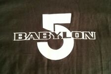Babylon 5 t shirt black size 2XL new