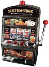 Slot Machine Pound Coin Money Saving Piggy Bank Sound & Light Casino Xmas Gift