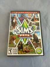 The Sims 3 Pets Expansion Pack Limited Edition Original Inserts Included