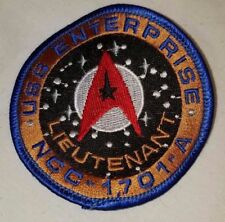 Star Trek Patch Badge USS Enterprise NCC 1701A Embroidered Unused