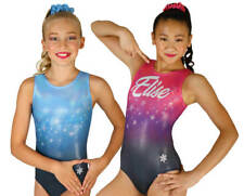 NEW! Fame Gymnastics or Dance Leotard by Snowflake Designs - Can personalize