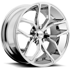 "Foose F148 Outcast 20x10 5x120 +40mm Chrome Wheel Rim 20"" Inch"