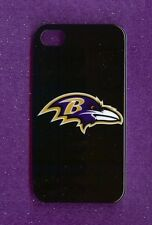 BALTIMORE RAVENS Hard Snap-on Case iPhone 4 / 4S (Design 13)+ Screen Protector