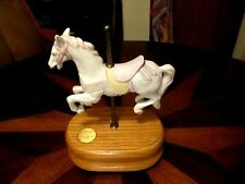 Vintage Willits Music Box Carousel Waltz Horse Group Ii Firing No 1-376