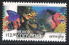 pc133 Mexico Conserva MNH paper 3 Sc#2470 Mc#3221 Et#mc133 reefs