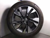"2018 VAUXHALL GRANDLAND X Mk1 18"" Alloy Wheel + 7mm Michelin Tyre 225/55R18 163"