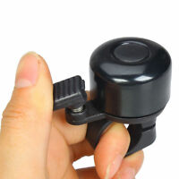 New Black Metal Ring Handlebar Bell Sound Alarm Horn for Bike Bicycle Cycling JP
