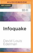 Jump 225 Trilogy: Infoquake by David Louis Edelman (2016, MP3 CD, Unabridged)