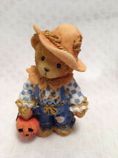 CHERISHED TEDDIES BEAR FIGURINE 884588 YOUR SMILE IS A TREAT Halloween