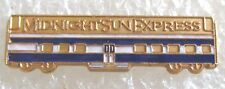 Vintage Midnight Sun Express Dome Train Alaska Rail Tour Souvenir Collector Pin
