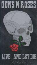 """GUNS N' ROSES """" LIVE... AND LET DIE, 2 CD'S LONGBOX  SEALED """""""