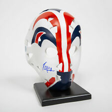 Grant Fuhr Edmonton Oilers Autographed Full Size Replica Vezina Year Goalie Mask
