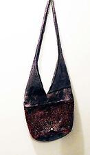 Beautiful Beaded Hobo/Boho/Hippy Cross Body/Shoulder Bag w/ YKK Locking Zippers!