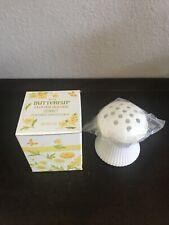 Rhtf Vtg 1974 Avon Buttercup Flower Holder Sonnet Perfumed Skin Softner-Nib