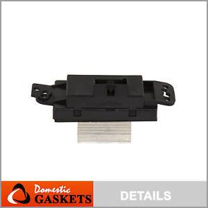 Fit 03-08 Buick Cadilla Chevrolet GMC Oldsmobile Saab HVAC Blower Motor Resistor