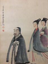 Chinese Watercolor Painting (Attributed to Fu Baoshi,傅抱石)