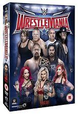 WWE Wrestlemania 32 [3 DVDs] + Hall of Fame 2016 *NEU* WM XXXII DVD