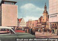 B34947 Leipzig Markt Altes Rathaus mit Neubauten  germany