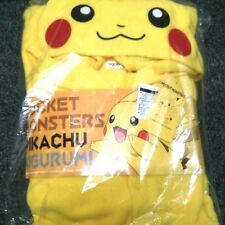 SAZAC Pokemon Pikachu Fleece Costume Adult Unisex Japan Genuine F/S New