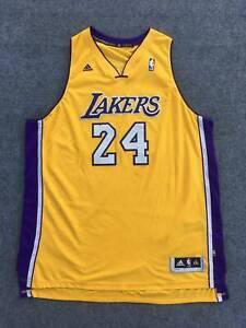 NBA Los Angeles Lakers Kobe Bryant Adidas Swingman jersey Mans Sz XXL