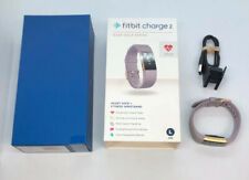 Fitbit FB407RGLVL Charge 2 Rose Gold Stainless Activity Tracker Lavender Band