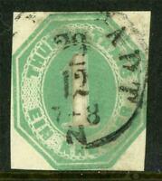 Germany 1860 Thurn & Taxis South 1Kr Green VFU J868 ⭐⭐⭐⭐⭐