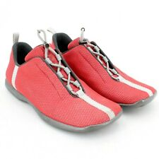Prada Sport Women's 3778 Red & Gray Knit Athletic Walking Shoes Size 36