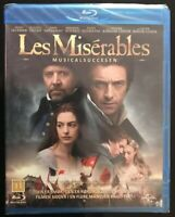 Les Miserables (Blu-ray, 2013). New
