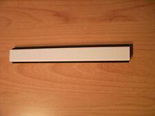PVC Fenstersprosse 65mm schwarze Dichtung  Selbstklebend  1m